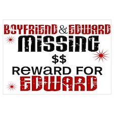 Boyfriend & Edward Missing TWILIGHT Wall Art