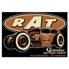 RAT - Route 66 Wall Art