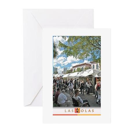 Art Fair Print 3 Greeting Cards (Pk of 10)