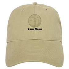 Personalized Volleyball Gift Baseball Cap
