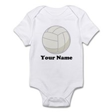 Personalized Volleyball Gift Infant Bodysuit