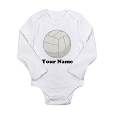 Personalized Volleyball Gift Onesie Romper Suit
