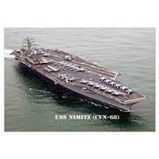 USS NIMITZ Wall Art