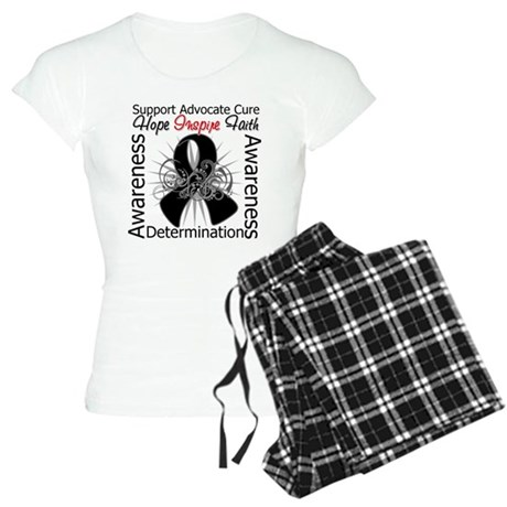 Skin Cancer Hope Inspiring Women's Light Pajamas