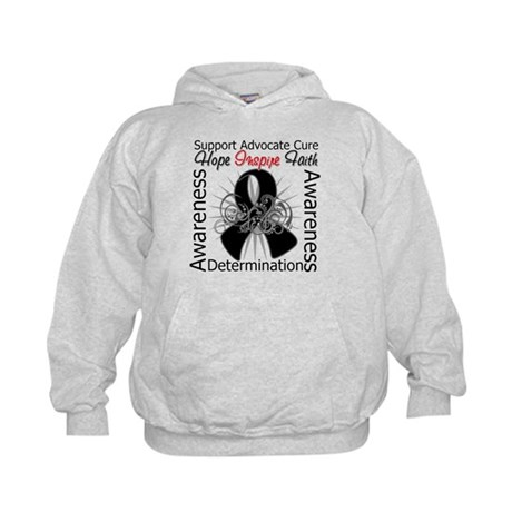 Skin Cancer Hope Inspiring Kids Hoodie