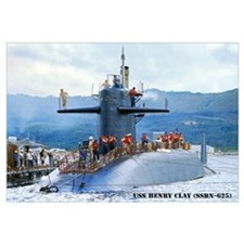 USS HENRY CLAY Wall Art