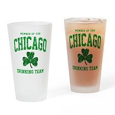 Chicago Drinking Drinking Glass