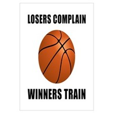 Basketball Winners Train Wall Art