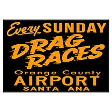 Drag Races Wall Art