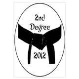 2nd Degree Black Belt Wall Art