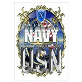 USN Global Force Wall Art