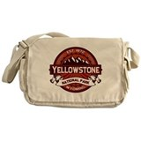 Yellowstone Crimson Messenger Bag