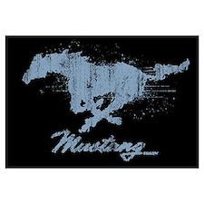 Mustang - Grunge Wall Art
