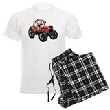 Red Tractor pajamas
