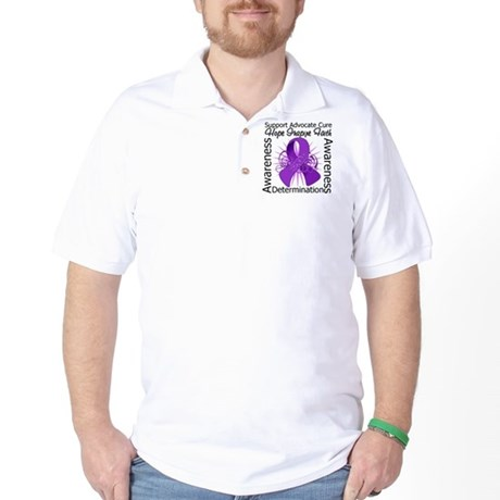 Pancreatic Cancer Hope Inspire Golf Shirt