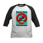 No Guns Allowed On Premises Kids Baseball Jersey