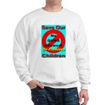 No Guns Allowed On Premises Sweatshirt