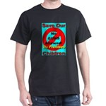 No Guns Allowed On Premises Black T-Shirt