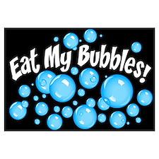 Eat My Bubbles Wall Art
