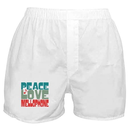 Peace Love Mellophone Boxer Shorts