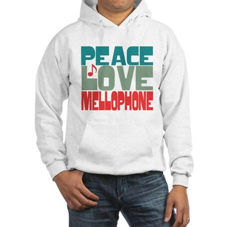 Peace Love Mellophone Hooded Sweatshirt
