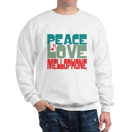 Peace Love Mellophone Sweatshirt