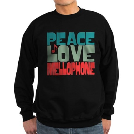 Peace Love Mellophone Sweatshirt (dark)