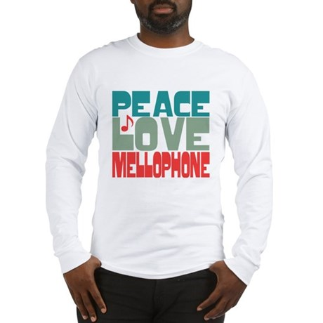 Peace Love Mellophone Long Sleeve T-Shirt