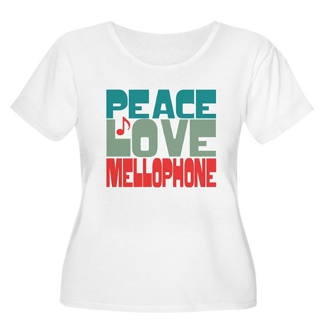 Peace Love Mellophone Women's Plus Size Scoop Neck