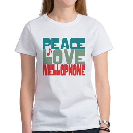 Peace Love Mellophone Women's T-Shirt