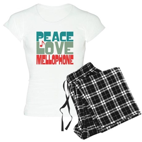 Peace Love Mellophone Women's Light Pajamas