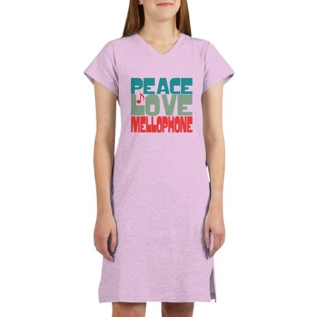 Peace Love Mellophone Women's Nightshirt