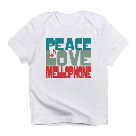 Peace Love Mellophone Infant T-Shirt