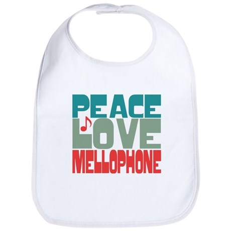 Peace Love Mellophone Bib