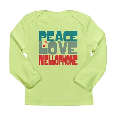 Peace Love Mellophone Long Sleeve Infant T-Shirt