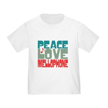 Peace Love Mellophone Toddler T-Shirt