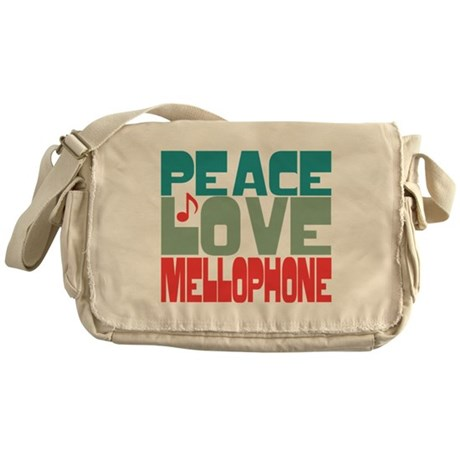 Peace Love Mellophone Messenger Bag