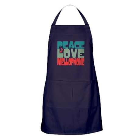 Peace Love Mellophone Apron (dark)