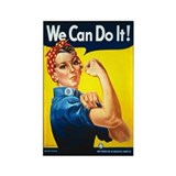 Rosie the Riveter Magnet (100 pack)