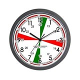 Replica Ships Radio Room Wall Clock / White