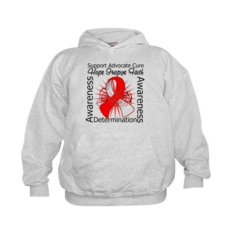 Oral Cancer Hope Inspiring Kids Hoodie