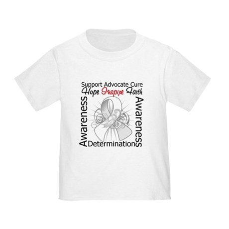 Mesothelioma Hope Inspiring Toddler T-Shirt