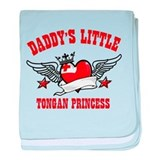 Daddy's little Tongan Princess baby blanket