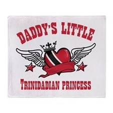 Daddy's Little Trinidadian Princess Stadium Blank