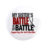 "My Battle Too Brain Cancer 3.5"" Button"