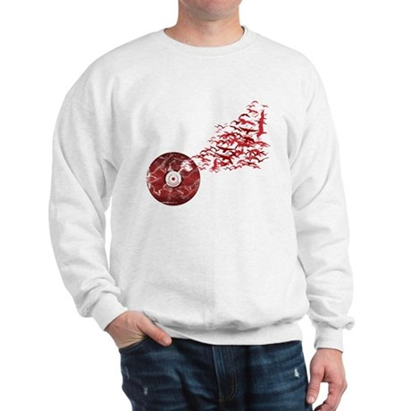 Vinyl Music Birds Sweatshirt