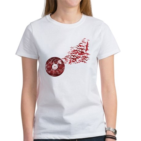 Vinyl Music Birds Women's T-Shirt