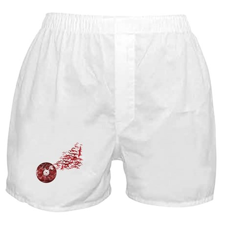 Vinyl Music Birds Boxer Shorts