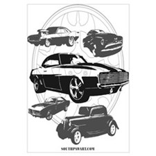 Cute Muscle car Wall Art