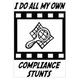 Compliance Stunts Wall Art